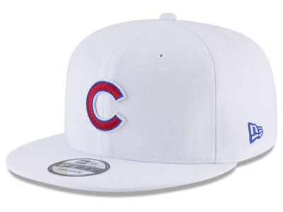 Chicago Cubs New Era MLB White 9FIFTY Snapback Cap