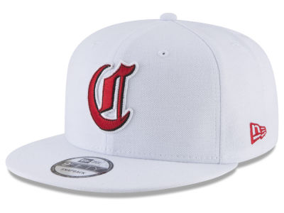 Cincinnati Reds New Era MLB White 9FIFTY Snapback Cap