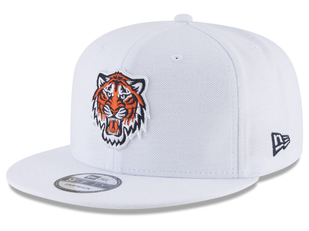 a5a6847cbaa Detroit Tigers New Era MLB White 9FIFTY Snapback Cap