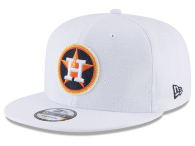 Houston Astros New Era MLB White 9FIFTY Snapback Cap
