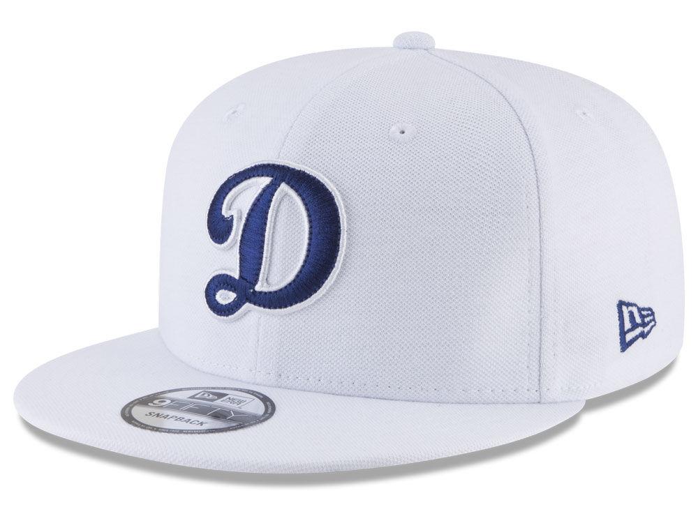 Los Angeles Dodgers New Era MLB White 9FIFTY Snapback Cap  a6579e330b0