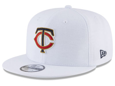 Minnesota Twins New Era MLB White 9FIFTY Snapback Cap