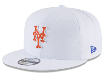 New York Mets New Era MLB White 9FIFTY Snapback Cap