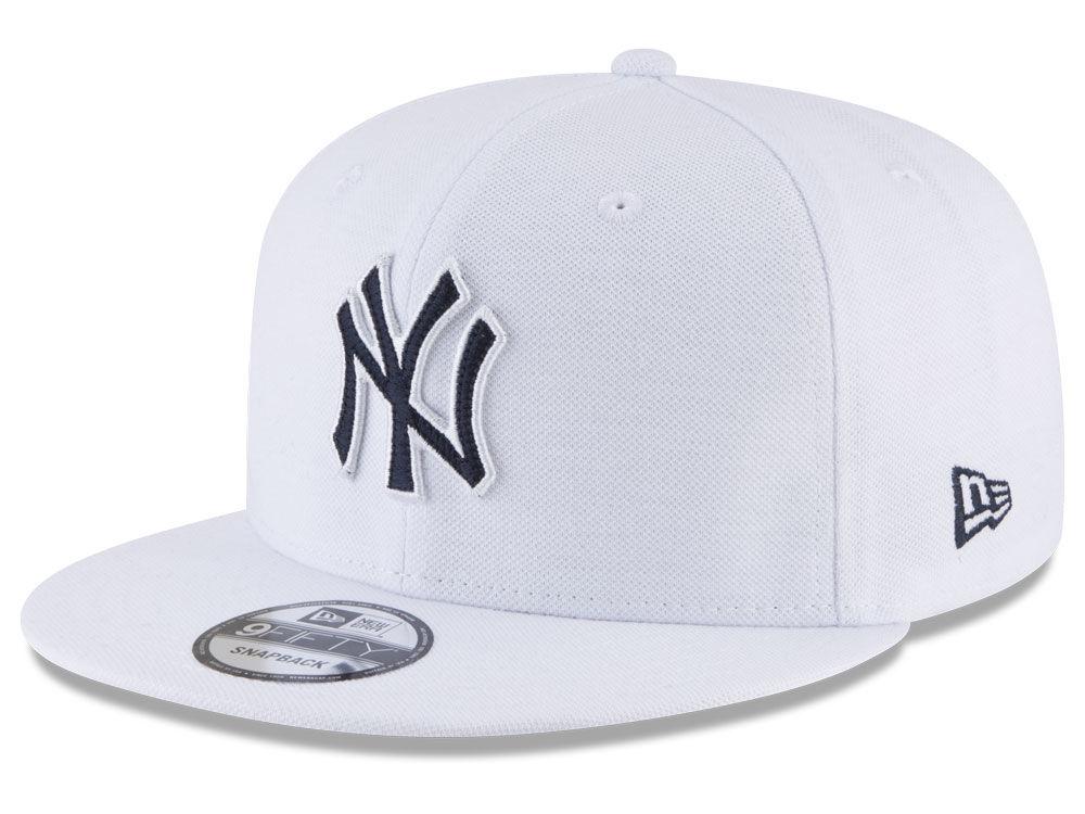 New York Yankees New Era MLB White 9FIFTY Snapback Cap  1e98325f49e