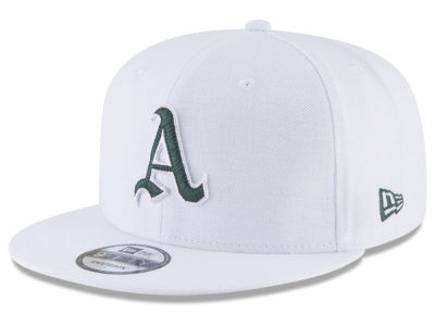 Oakland Athletics New Era MLB White 9FIFTY Snapback Cap