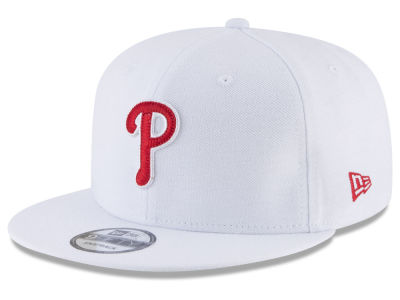 Philadelphia Phillies New Era MLB White 9FIFTY Snapback Cap