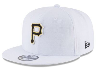 Pittsburgh Pirates New Era MLB White 9FIFTY Snapback Cap