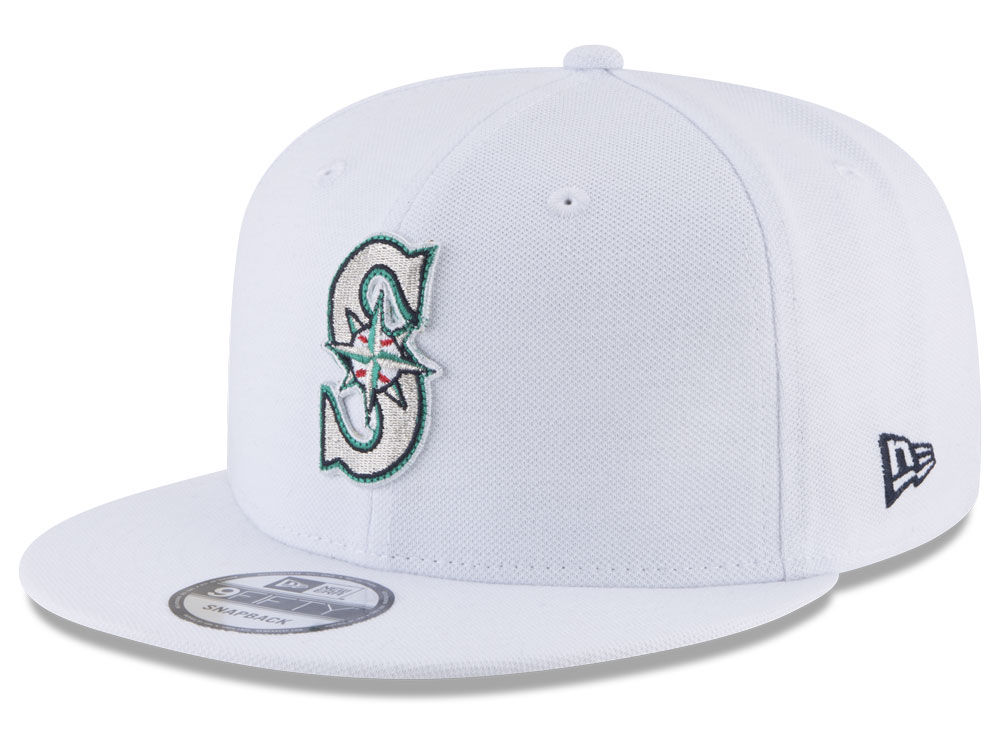 separation shoes ad1cc dcfb1 ... sale seattle mariners new era mlb white 9fifty snapback cap 6dc3b 1f146