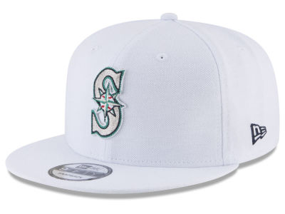 online store 25cb7 63093 ... sale seattle mariners new era mlb white 9fifty snapback cap 21300 0a1e4