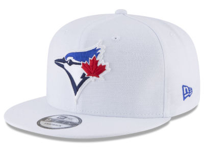 Toronto Blue Jays New Era MLB White 9FIFTY Snapback Cap