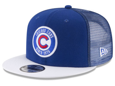 Chicago Cubs New Era MLB Circle Patch 9FIFTY Snapback Cap