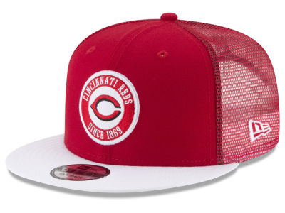 Cincinnati Reds New Era MLB Circle Patch 9FIFTY Snapback Cap