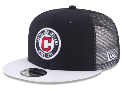 Cleveland Indians New Era MLB Circle Patch 9FIFTY Snapback Cap