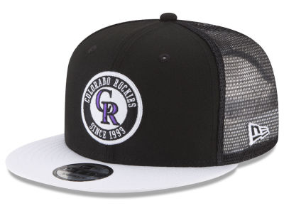 Colorado Rockies New Era MLB Circle Patch 9FIFTY Snapback Cap