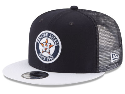 Houston Astros New Era MLB Circle Patch 9FIFTY Snapback Cap