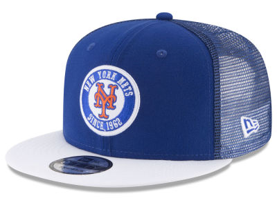 New York Mets New Era MLB Circle Patch 9FIFTY Snapback Cap