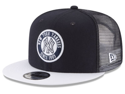 New York Yankees New Era MLB Circle Patch 9FIFTY Snapback Cap
