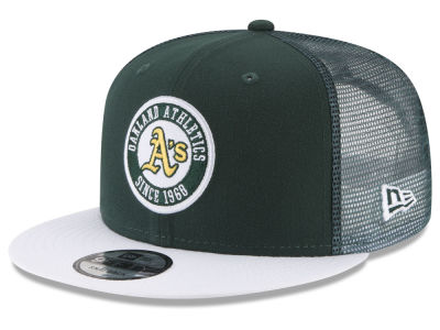 Oakland Athletics New Era MLB Circle Patch 9FIFTY Snapback Cap