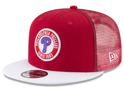 Philadelphia Phillies New Era MLB Circle Patch 9FIFTY Snapback Cap