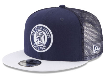 San Diego Padres New Era MLB Circle Patch 9FIFTY Snapback Cap