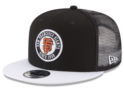 San Francisco Giants New Era MLB Circle Patch 9FIFTY Snapback Cap