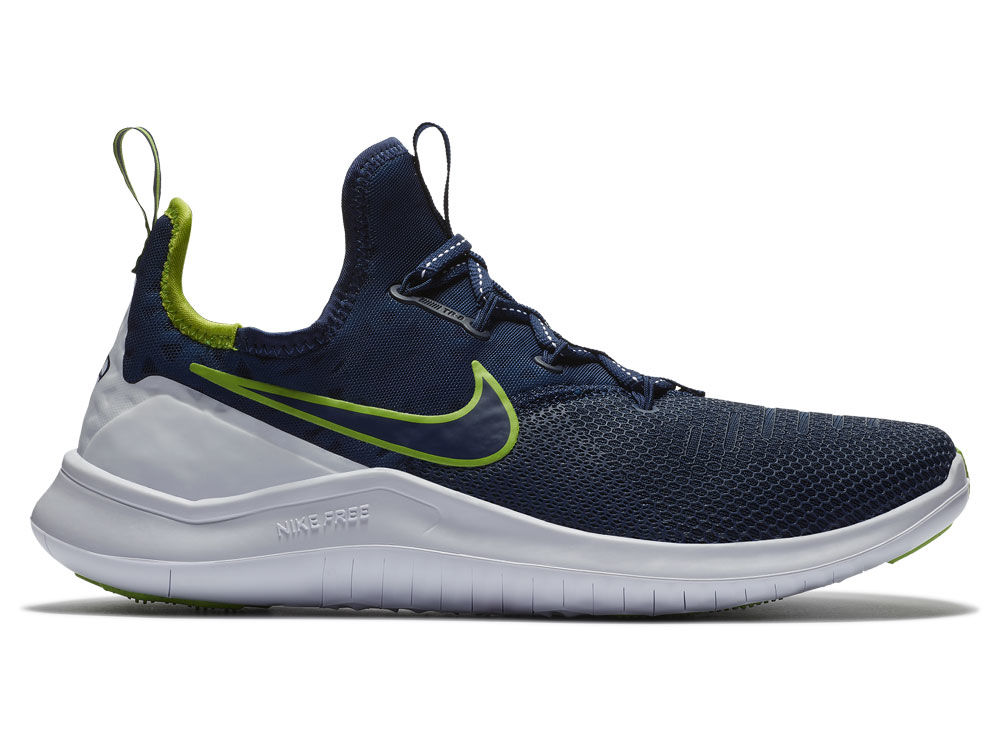 new product ac679 fbee3 ... Seattle Seahawks Nike NFL Women s Free Trainer Shoes ...