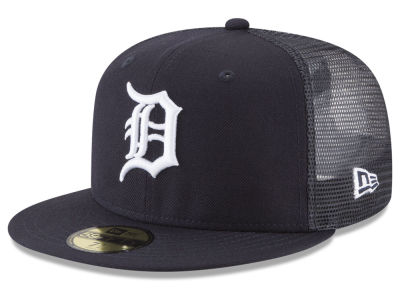 Detroit Tigers New Era MLB On-Field Mesh Back 59FIFTY Cap