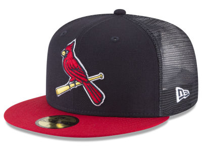 St. Louis Cardinals New Era MLB On-Field Mesh Back 59FIFTY Cap