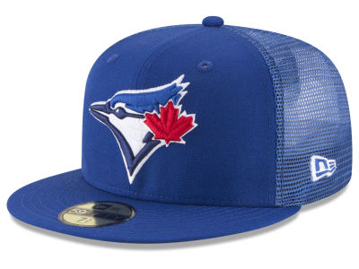 Toronto Blue Jays New Era MLB On-Field Mesh Back 59FIFTY Cap