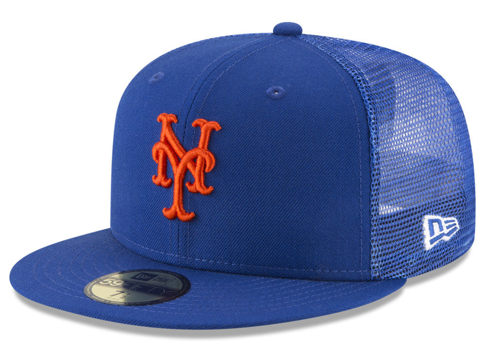 new product 28122 a5ced ... real new york mets new era mlb on field mesh back 59fifty cap ec5d5  798d2 shopping mens ...