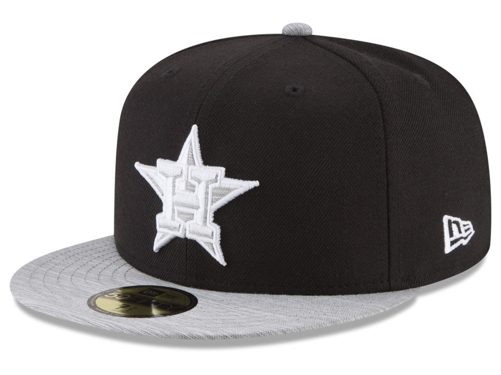 online store c2a5e d0009 france houston astros new era mlb black heather 59fifty cap 427cd 176bc