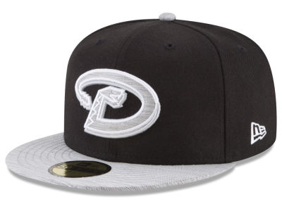 Arizona Diamondbacks New Era MLB Black Heather Coop 59FIFTY Cap