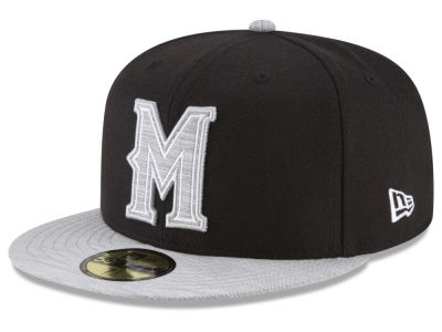 Milwaukee Brewers New Era MLB Black Heather Coop 59FIFTY Cap