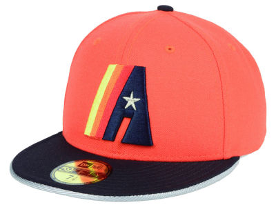 Houston Astros New Era MLB Turn To The Future 59FIFTY Cap