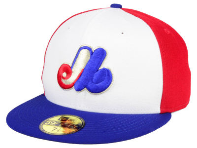 Montreal Expos New Era MLB Turn To The Future 59FIFTY Cap