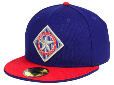 Texas Rangers New Era MLB Turn To The Future 59FIFTY Cap