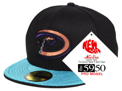 Arizona Diamondbacks New Era MLB Turn Ahead The Clock 59FIFTY Cap
