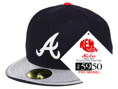Atlanta Braves New Era MLB Turn Ahead The Clock 59FIFTY Cap