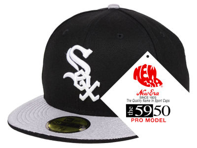 Chicago White Sox New Era MLB Turn Ahead The Clock 59FIFTY Cap