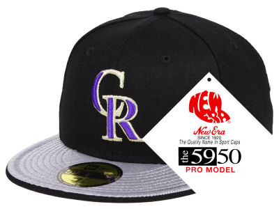 Colorado Rockies New Era MLB Turn Ahead The Clock 59FIFTY Cap