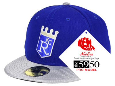 Kansas City Royals New Era MLB Turn Ahead The Clock 59FIFTY Cap