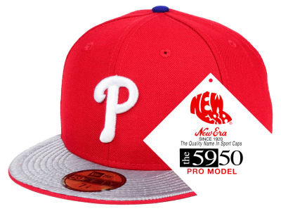 Philadelphia Phillies New Era MLB Turn Ahead The Clock 59FIFTY Cap