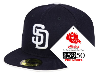San Diego Padres New Era MLB Turn Ahead The Clock 59FIFTY Cap