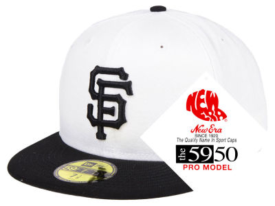 San Francisco Giants New Era MLB Turn Ahead The Clock 59FIFTY Cap