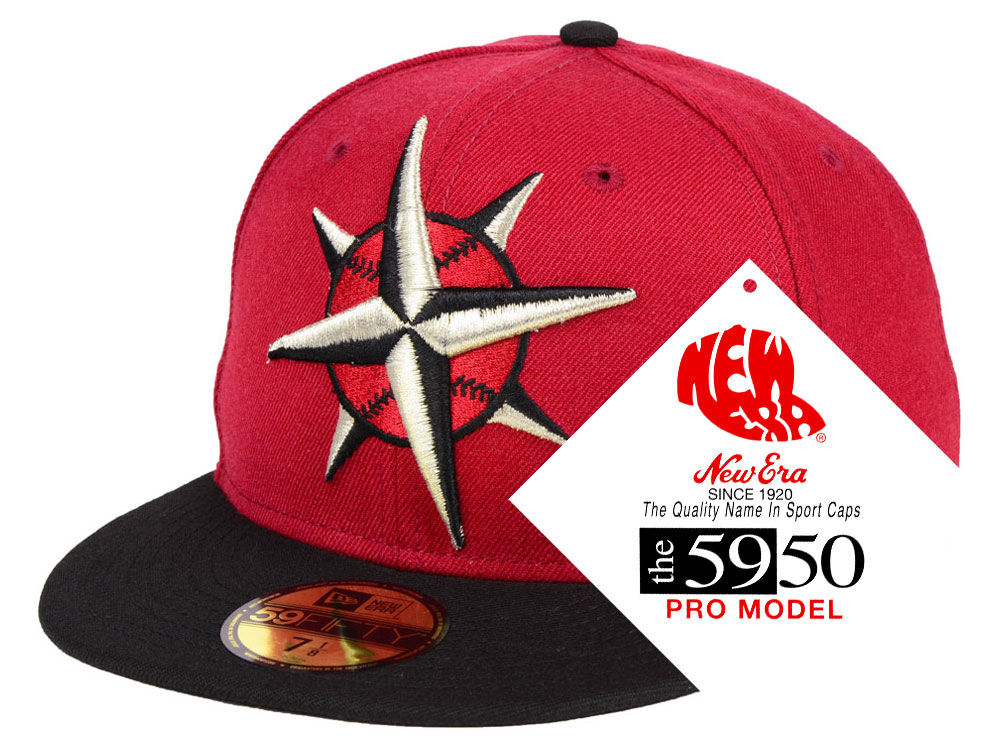 Seattle Mariners New Era MLB Turn Ahead The Clock 59FIFTY Cap  7fcbf0f5984c
