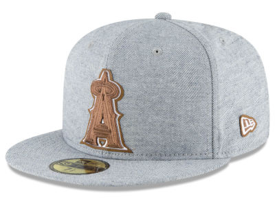 Los Angeles Angels New Era MLB Butter Fill 59FIFTY Cap