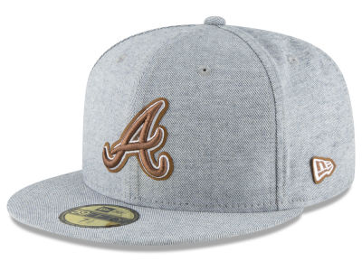Atlanta Braves New Era MLB Butter Fill 59FIFTY Cap