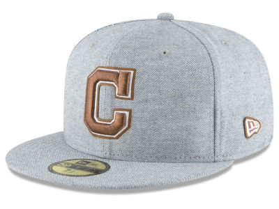 Cleveland Indians New Era MLB Butter Fill 59FIFTY Cap