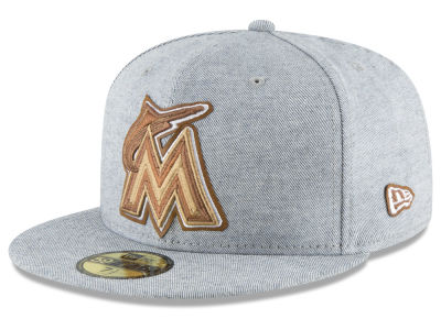 Miami Marlins New Era MLB Butter Fill 59FIFTY Cap