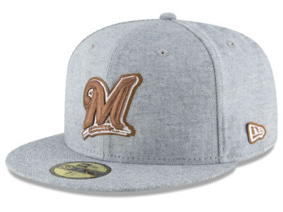 Milwaukee Brewers New Era MLB Butter Fill 59FIFTY Cap